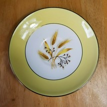 Century Service Autumn Gold Salad Plate (1) Gold with Wheat Pattern 1940's - $3.91