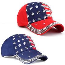 Men Women New The American Flag Baseball Cap Snapback Hip-Hop hat Adjust... - $15.99