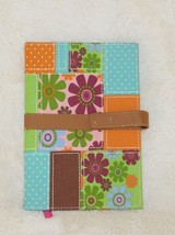 DGI Hardcover 120 Page Patchwork Journal / Notebook with Snap Closure