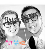 2pcs new arrival bride groom glass wedding decoration party favor photo ... - $10.00