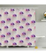 Shower Curtain Colorful Rain Drops Print 14478 - $34.60