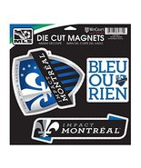 MLS Impact Montreal Car/Fan Magnet, Large/11 x 11-Inch, White - $14.69