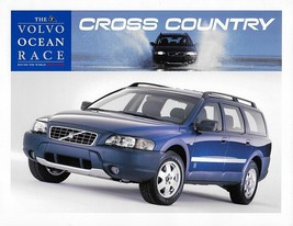 2002 Volvo V70 XC Ocean Race Edition brochure catalog sheet US 02 Cross ... - $10.00