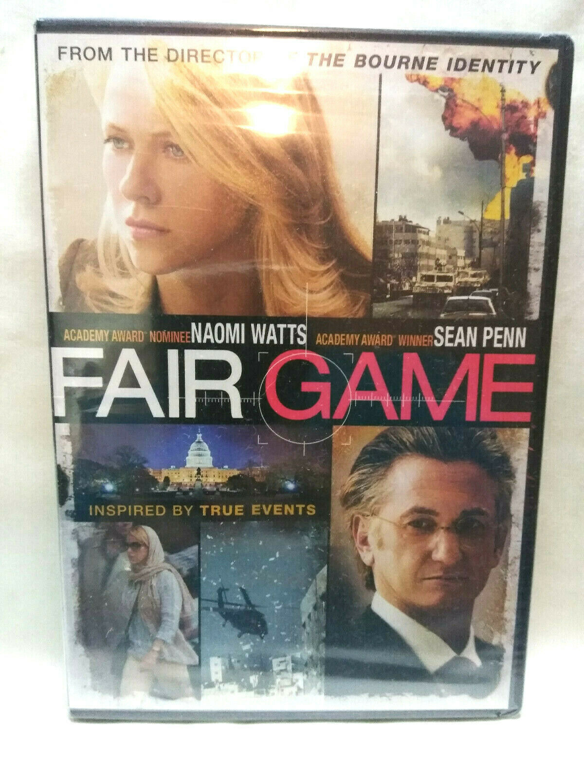 Fair Game (DVD, 2011) New Sealed Naomi Watts, Sean Penn image 1