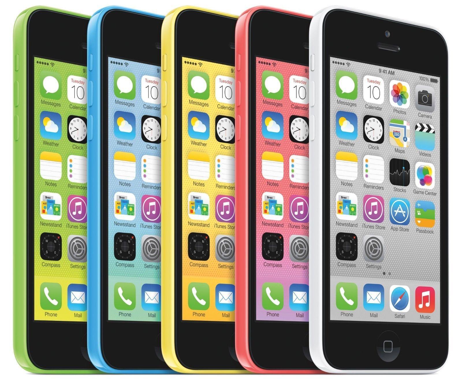 Apple iPhone 5C - 8GB | 16GB - 4G LTE FACTORY GSM UNLOCKED Smartphone