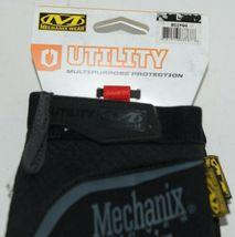 Mechanix Wear 911744 Utility Multipurpose Gloves Black Grey Large image 4