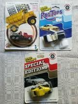 Misc Die Cast Lot of 3 Die Cast Cars 1980s Zee Mini Macks & Road Champs  - $13.54