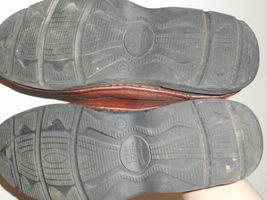 64 Comfort Men's 83890 11 BUSH M Up Gel NUNN Leather Brown Oxfords Lace vZgqA