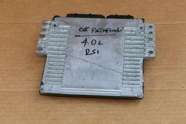 08 Nissan Pathfinder 4.0 ECU ECM PCM MEC70-501 A1 image 5