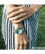 SK® Watches New Luxury Women Watches Rose Golden Watch Mesh Belt Dress C... - $28.68