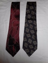 Polo by Ralph Lauren Men's Ties New W/O Tag 2 Ties 100% Silk Made In USA 56 Inch - $29.69