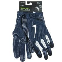 Nike Vapor Knit Football Skill Gloves Adult Size 3XL Blue White NEW PGF610-453 - $43.51