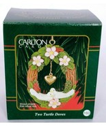 Carlton Cards Christmas Ornament Two Turtle Doves No. 160 1999 - $17.51