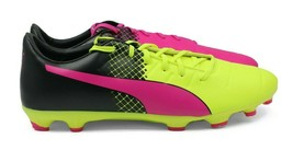 PUMA evoPOWER 3.3 Tricks AG Men's Soccer Cleats - Pink/Yellow - Size 12 - NEW - $51.47