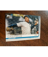 2019 TOPPS CLEAR AROLDIS CHAPMAN YANKEES REDS PROMO PARALLEL CARD # CP-4... - $9.99
