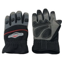 Briggs & Stratton LARGE Dexterity Work Gloves w/ Boxed Finger, Padded Kn... - $14.84