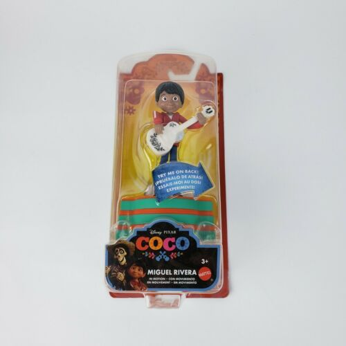 Disney Pixar Coco 2017 Miguel Rivera in Motion Action Figure NEW Retired Toy !