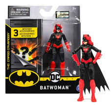 """The Caped Crusader Batwoman 4"""" Action Figure with 3 Mystery Accessories MIB - $16.88"""