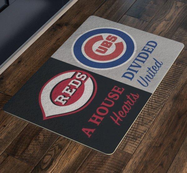 Chicago Cubs Sign Wrigley Field Man Cave Cincinnati Reds Go Big Red Machine Cubs