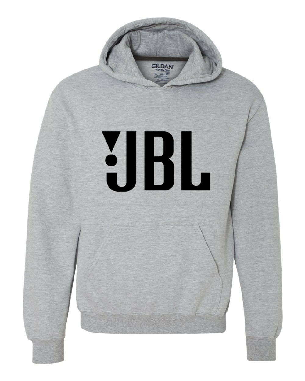 JBL Hoodie car stereo speaker sound system hi quality audio products graphic tee