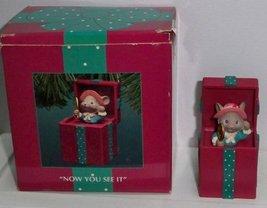 1994 - Enesco Treasury of Christmas Ornaments - Merry Miss Merry Ornamen... - $7.80
