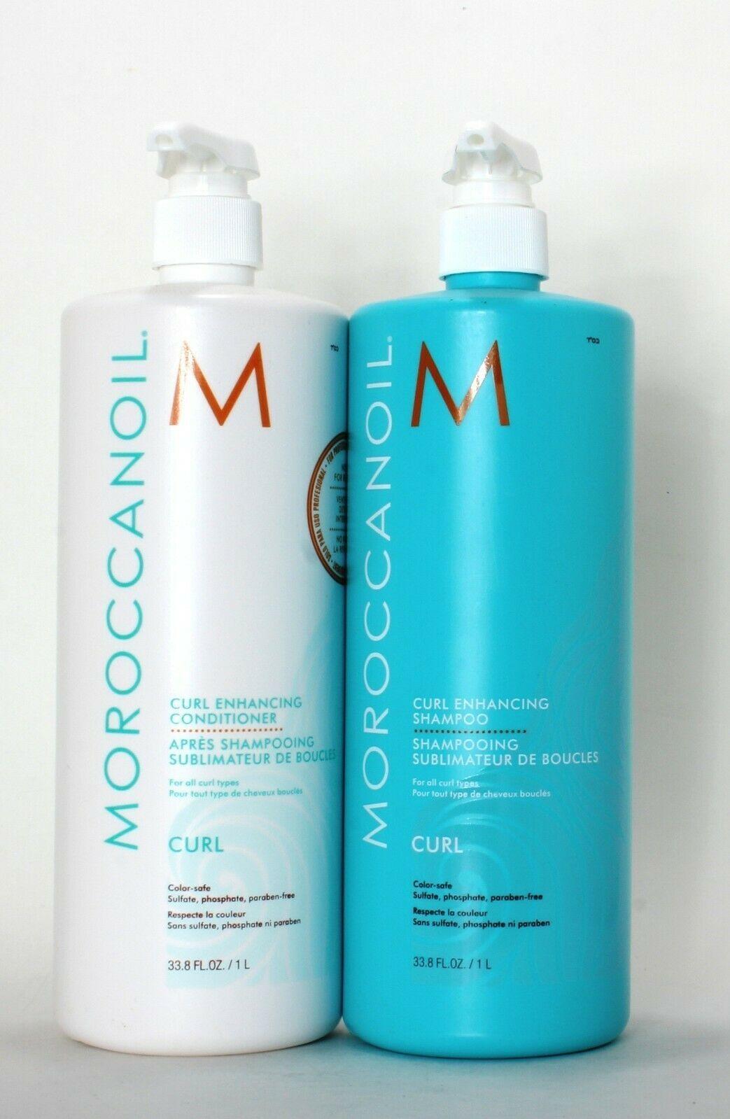 Moroccanoil Curl Enhancing Shampoo And Conditioner 33.8 Fl oz - $99.99