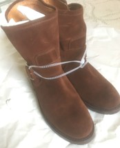 Frye Booties 6.5 Brand New Without Box With Tag Brown $348 - $114.84