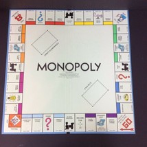 Parker Brothers Monopoly Board Game and Instructions 1961 Replacement Board - $11.29