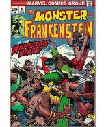Frankenstein #4 (1973) *Bronze Age / Marvel Comics / The Monster Of... / Horror* - $9.00