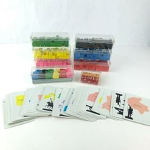 Vintage Parker Brothers Continental RISK 1959, 1963 army pieces cubes ca... - $11.87