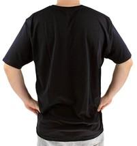 NEW GIOBERTI MENS PREMIUM CLASSIC ATHLETIC V NECK T-SHIRT TEE BLACK VN-9503 image 2