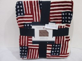 "Tommy Hilfiger Americana 4th of July Patriotic Plush Throw Blanket 50x70"" - €25,49 EUR"