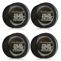 Lot of 4: NEW Maybelline Color Tattoo Leather 24 Hour in 85 Deep Forest ... - $14.84