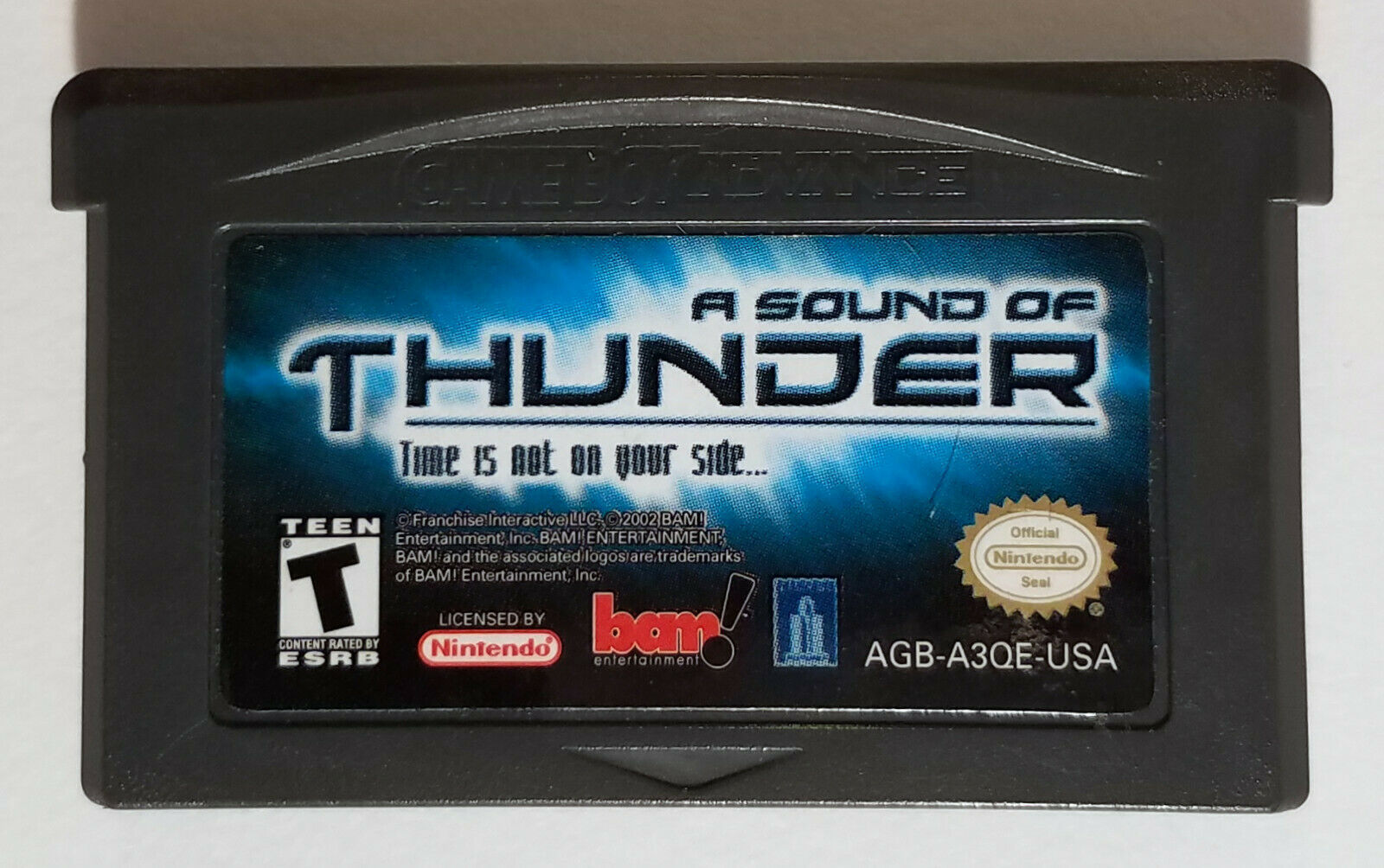A Sound of Thunder Nintendo Game Boy Advance 2005 Cartridge Only