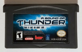 A Sound of Thunder Nintendo Game Boy Advance 2005 Cartridge Only - $36.00