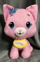 "Fisher Price Pink Cat Kitty Kitten Plush 8"" Valentine Infant Baby Gift T... - $23.06"