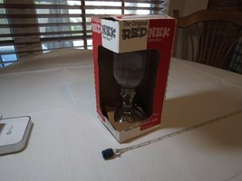 REDNEK RED NEK redneck wine glass mason jar wine-down Carson NOS Ball 16... - $20.83