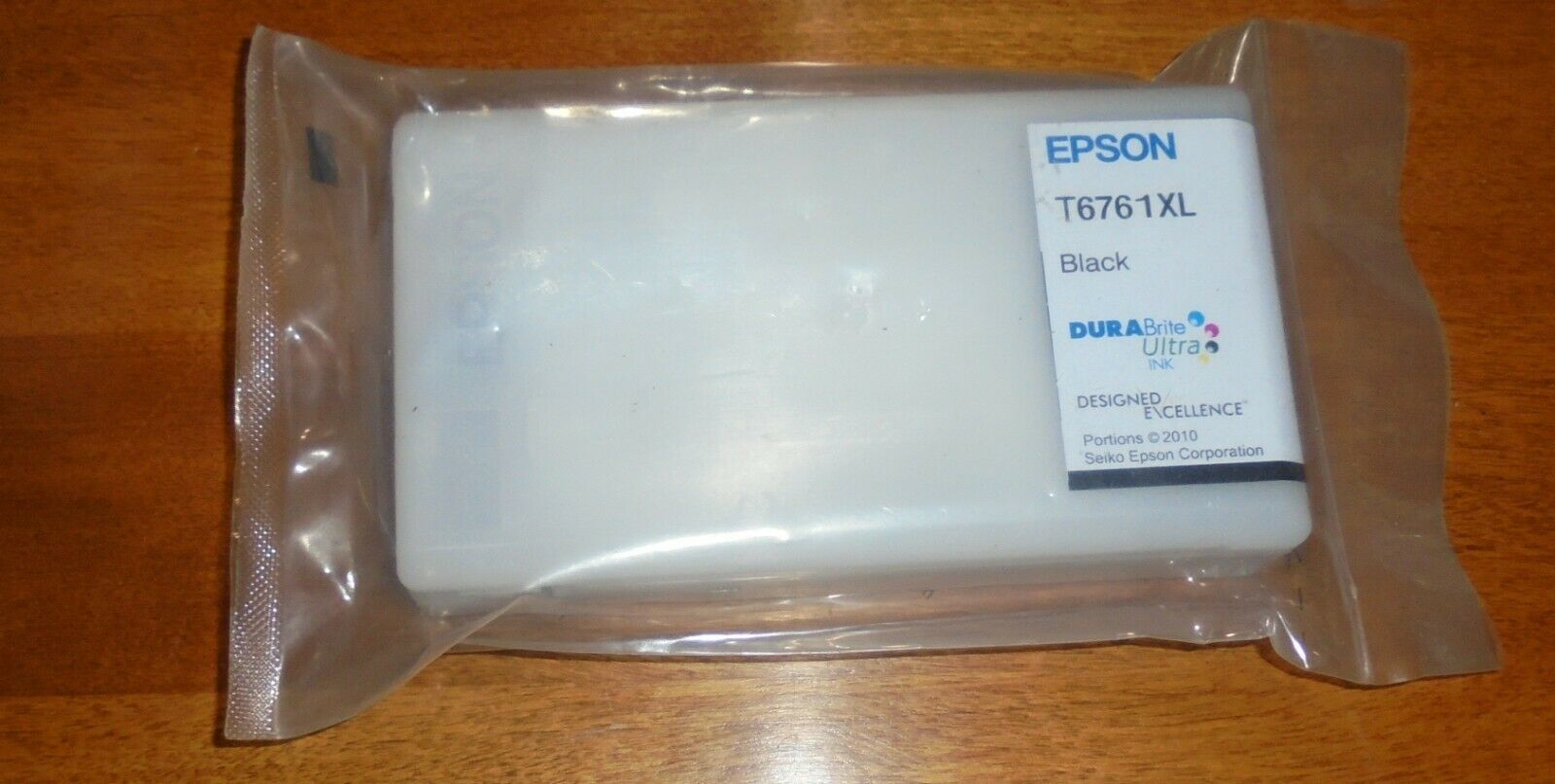 Genuine Epson Ink Cartridge 676XL Black T676XL120 New In Seal No Box