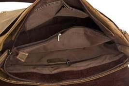 Sale, Handmade Vintage Leather Bag, Leather Messenger Bag, Men's Leather Shoulde image 6