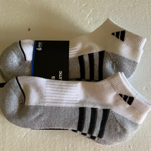 Adidas Athletic Ankle Socks 6-12 - $20.00