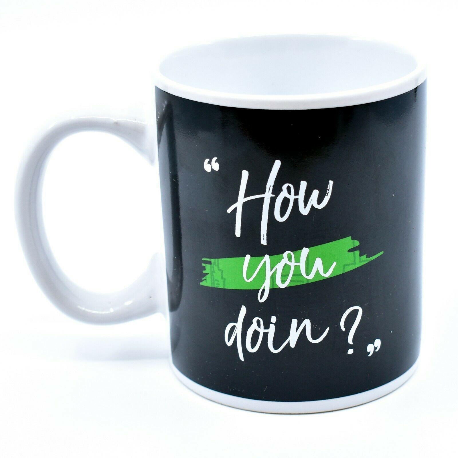 Friends TV Show How You Doin' Heat Changing 11oz Coffee Mug