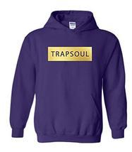 CC Bryson Tiller Trapsoul Hoodie Purple (Gold Print) - $29.99