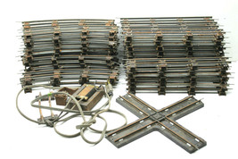 Vintage AC Gilbert American Flyer S Scale Track Lot  20+ Straight & 30+ ... - $42.06