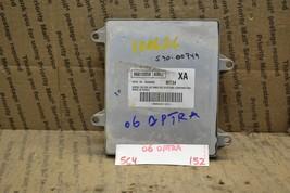 2006 Chevrolet Optra Engine Control Unit ECU 96812058 Module 152-5C4 - $17.59