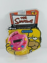 New The Simpsons I Can Read Your Mind 20Q 20 Questions Trivia Game Homer Donut - $24.99