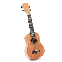 New 2017 Ukulele 21 inch 4 Strings Mahogany Acoustic Guitar High Quality... - $44.58