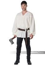 California Costumi Rinascimento Contadino Camicia Adulto Halloween 5120-018 - $34.41