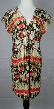 Vince Camuto women's empire dress multicolor short sleeve size 6 - $16.89