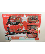 SERIES 1 Disney Mickey Mouse Holiday Express 36 pc Collector Train Set -... - $128.69