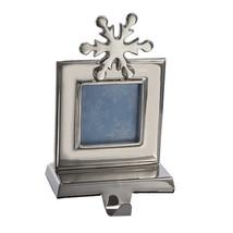 """Kurt S. Adler 9"""" Silver Metal Photo Frame Christmas Stocking Holder Hanger - $28.88"""